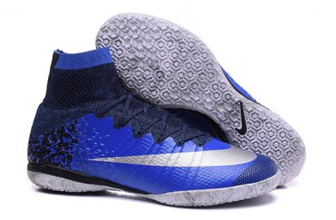 6655d2398d2 Prev Nike Mercurial X Proximo CR7 IC Indoor Royal blue Metallic Silver  Racer Blue 677927-404
