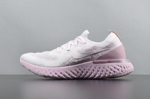 772cf39779c8 Nike Epic React Flyknit Elephant Print Black Grey AQ0067-991 - Febbuy