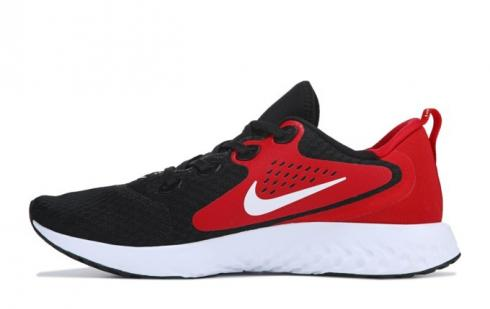 Nike Legend React Running Shoes Black White University Red AA1625-004