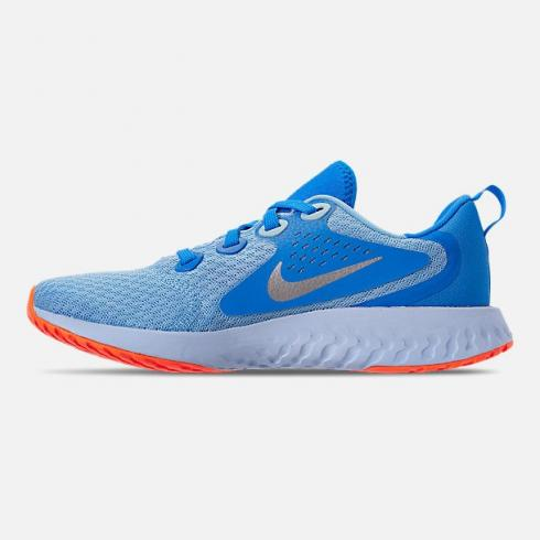 Nike Legend React Running Shoes Blue Chill Metallic Silver Blue Hero AH9437-400
