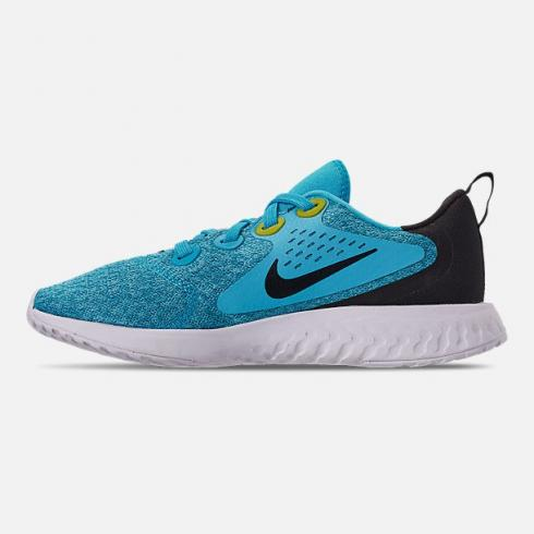 Nike Legend React Running Shoes Blue Fury Black Bright Citron White AH9438-401