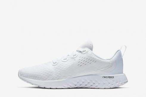 Nike Legend React Running Shoes Pure White AH9438-100