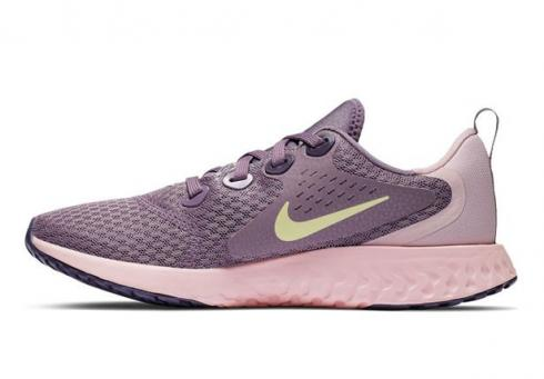 Nike Legend React Running Shoes Violet Dust Met Gold Star Light Artic Pink AH9437-500