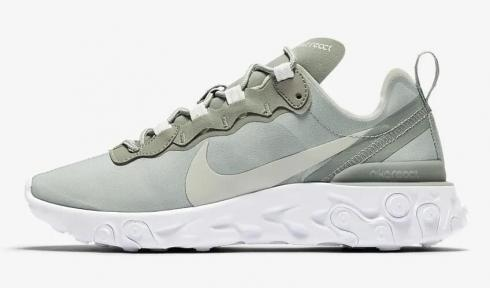 Nike React Element 55 Mica Green White Light Silver BQ2728-300