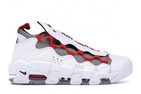 Nike Air More Money White Habanero Red Atmosphere Grey BV2520-100