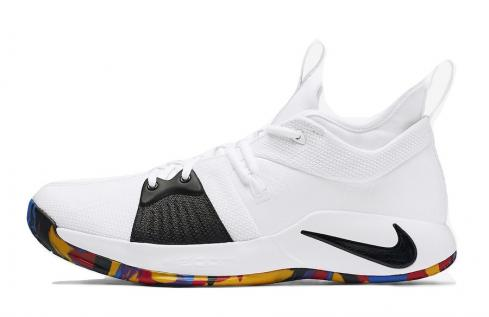 Nike PG 2 March Madness White Multi Color AJ5163-100