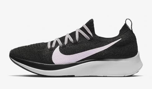 Nike Zoom Fly Flyknit Black Vast Grey Pink Foam AR4562-001