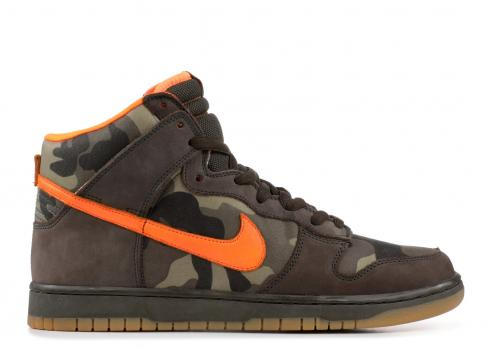 Dunk High Pro SB Brian Anderson Orange Safety Green Sable 305050-281
