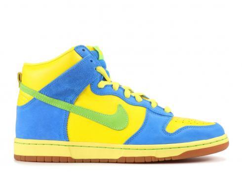 Dunk High Pro SB Marge Simpson Radiant Green Zest 305050-731