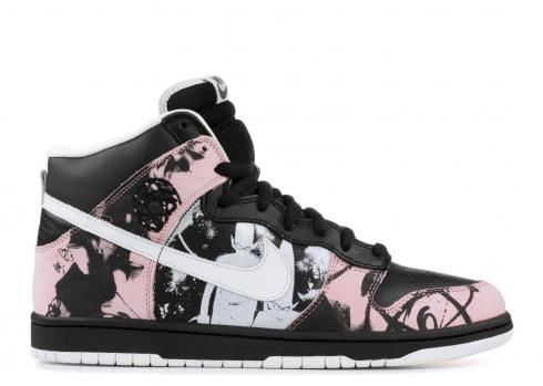 Dunk High Pro SB Unkle White Black 305050-013