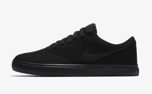 Nike SB Check Solarsoft Canvas Black Anthracite 921463-001