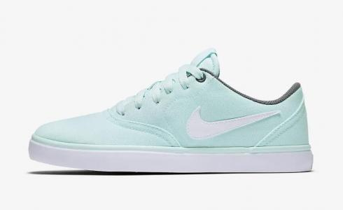 Nike SB Check Solarsoft Canvas Teal Tint Cool Grey White 921463-300
