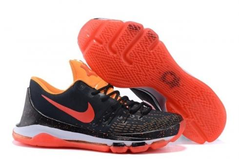 ccb18000b25 Nike KD 8 Kevin Durant Men Basketball Sneakers Black Flu Green ...
