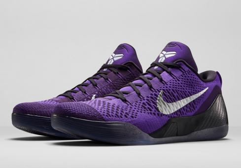 Kobe 9 Elite Low Hyper Grape White Cave Purple 639045 515