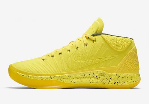 f762aba93f2f Nike Zoom Kobe A.D Mid Detached Men Basketball Shoes Lemo Yellow All 922482  Item No. 922482