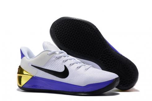 0068886eed13 Nike Zoom Kobe A.D white purple Men Basketball Shoes - Febbuy