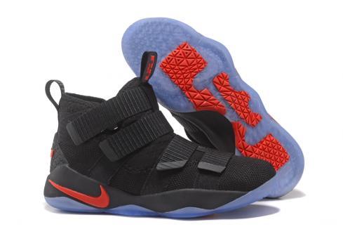 0918ff7e06b Prev Nike Zoom LeBron Soldier XI 11 Men Basketball Shoes Black Red 897645