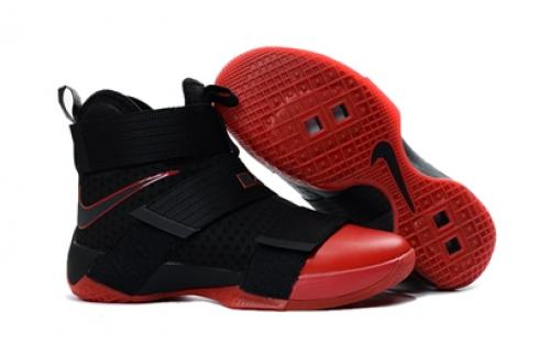 outlet store 17951 6bcdd Prev Nike Lebron Soldier 10 EP X Black Red Basketball Shoes Men 844378