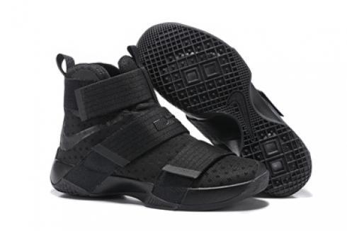 4e8e98197fa9 Prev Nike Lebron Soldier 10 EP X Men Black Space Basketball Shoes Men 844374-001.  Zoom