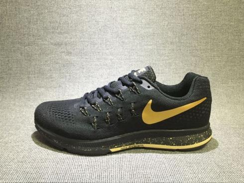 Black Yellow Mens Shoes 880103-007 - Febbuy