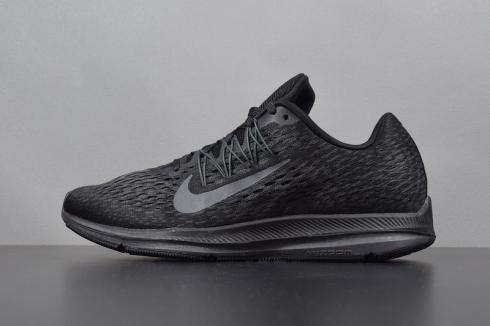 Nike Zoom Winflo 5 Black Mens Running Shoes AA7406-002