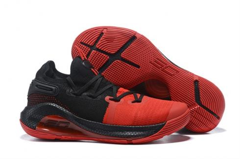 Under Armour Curry 6 Black Red 3020612-006