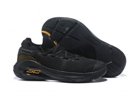 Under Armour Curry 6 Black Yellow 3020612-005