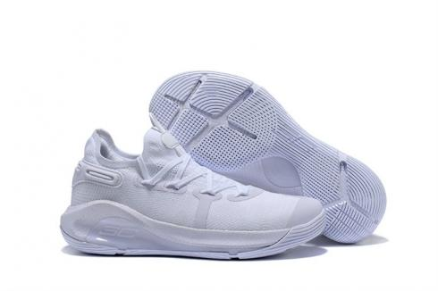 Under Armour Curry 6 Pure White 3020612-100