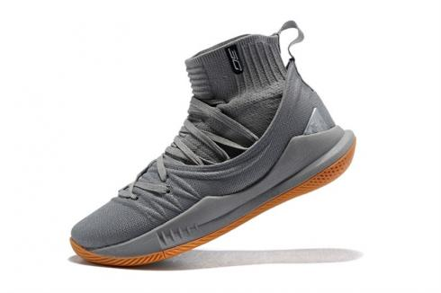 UA Curry 5 Under Armour Curry 5 Cool Grey 3020677-105