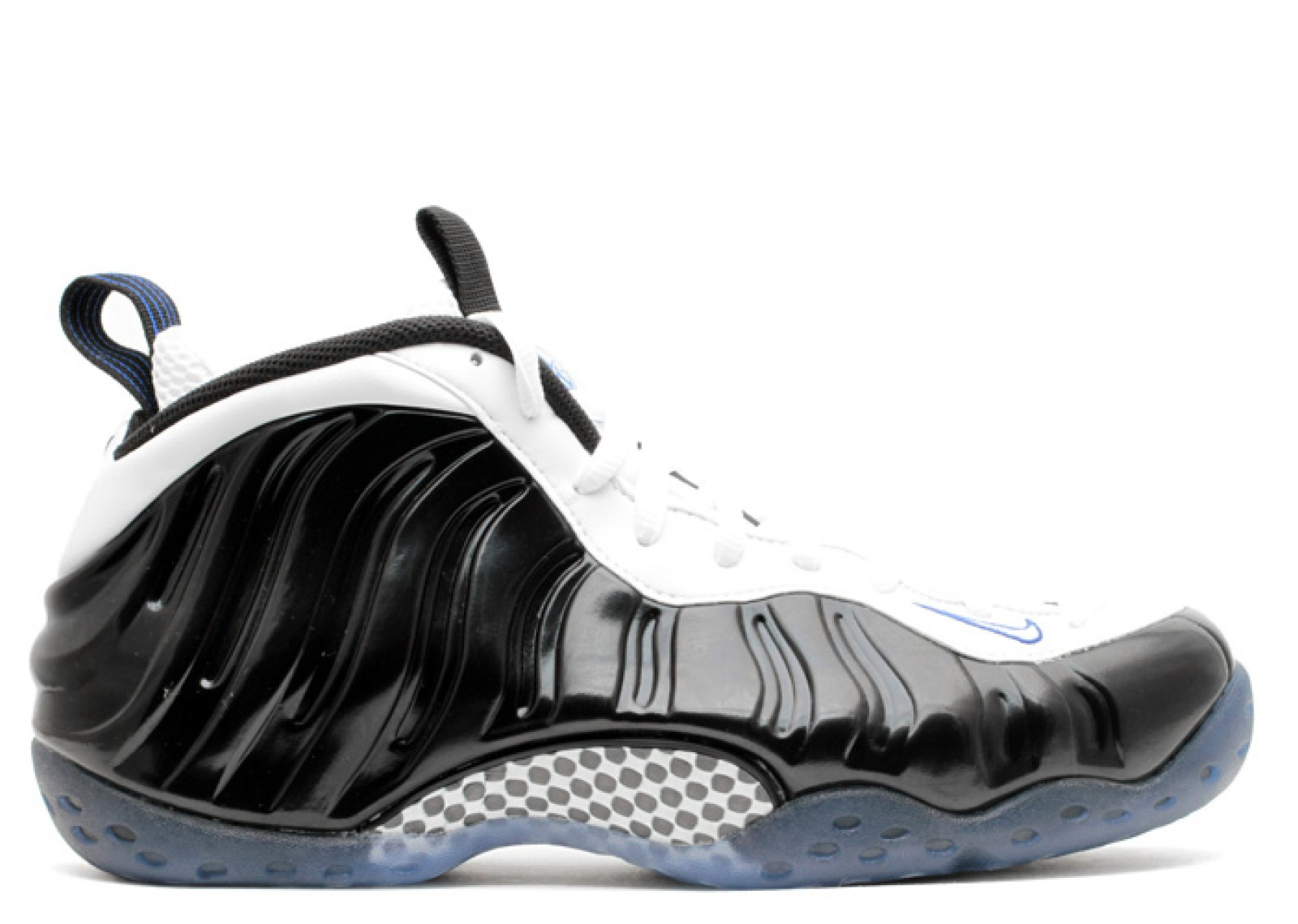 cheap for discount 5d778 0544c Prev Air Foamposite One Concord Royal White Black Game 314996-005