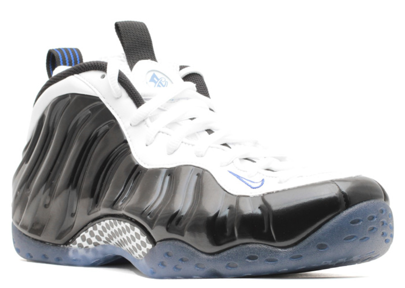 brand new ec0b2 2908b Air Foamposite One Concord Royal White Black Game 314996-005 ...