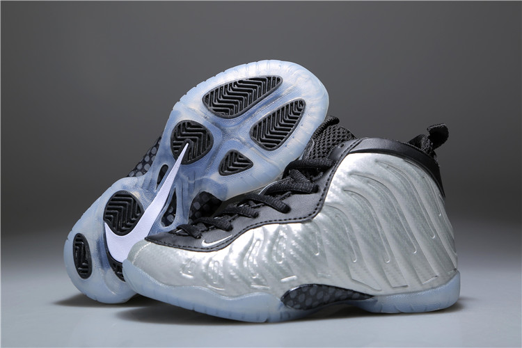 0c1a5586784af Prev Nike Air Foamposite One Kid Children Shoes Silver Black White 723946 -403