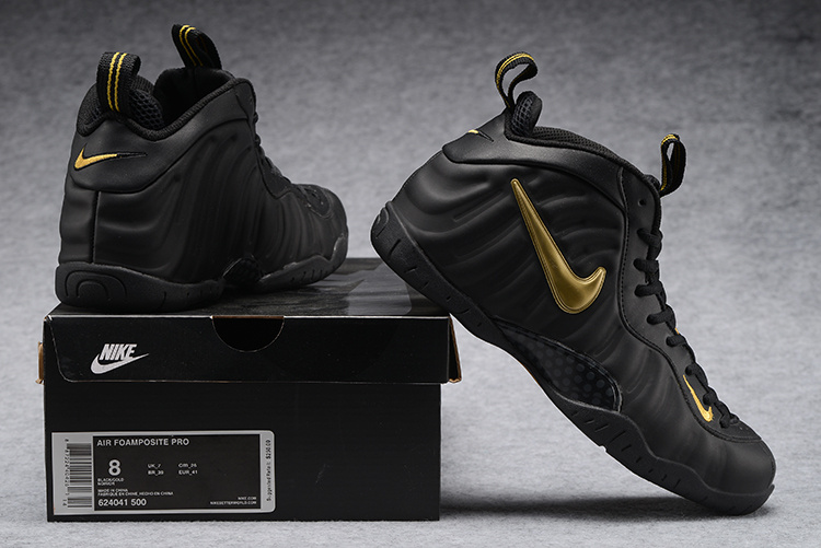 outlet store ffeb1 f3c8c Prev Nike Air Foamposite One Pro Black Yellow Men Basketball Shoes 624041 -500