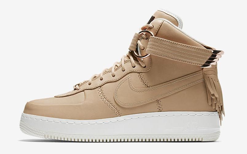 air force 1 rose gold