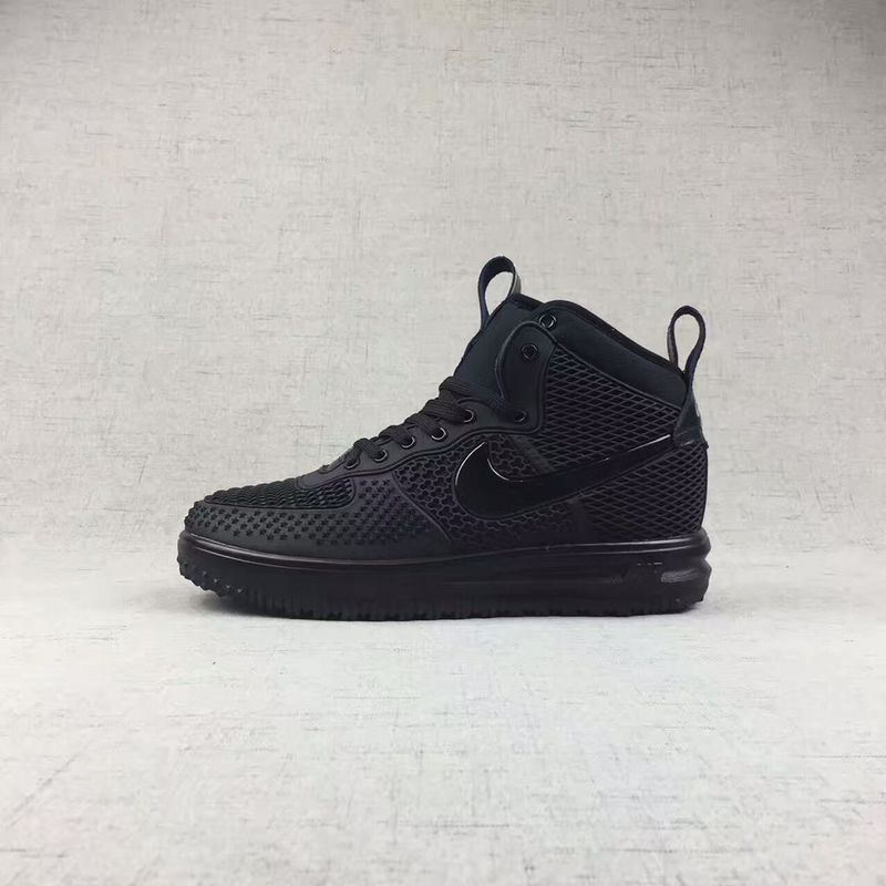 Nike Air Force 1 High KPU All Black Men Shoes - Febbuy 6a10210c8