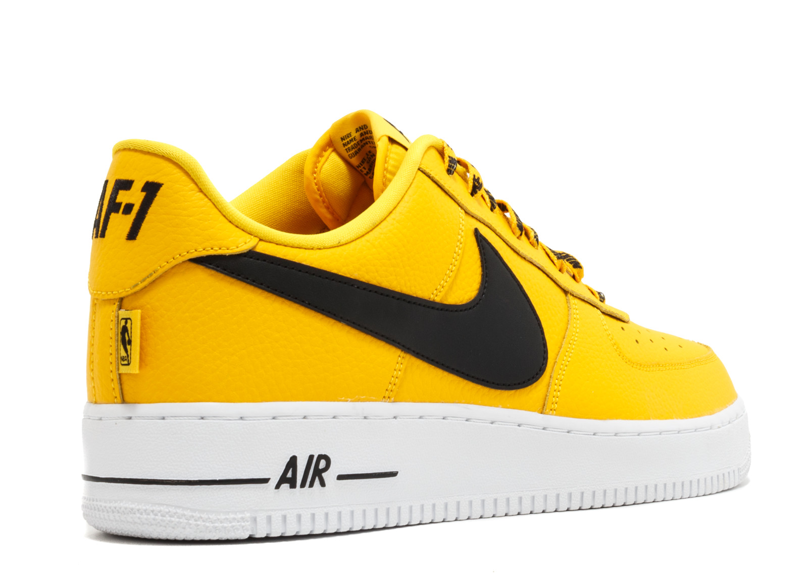 Air Force 107 Lv8 Nba Pack White Black Amarillo 823511-701