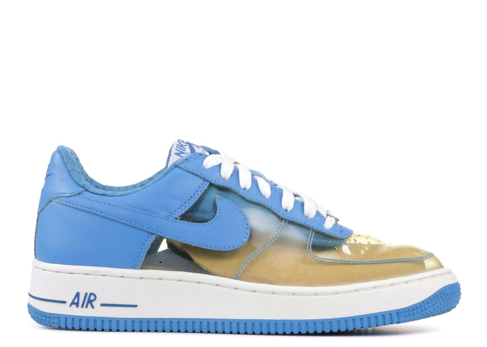 25cb3a00dc6 Air Force 1 Premium Fantastic 4 Invisible Woman Harbor Blue Clear White  Military 313641-941
