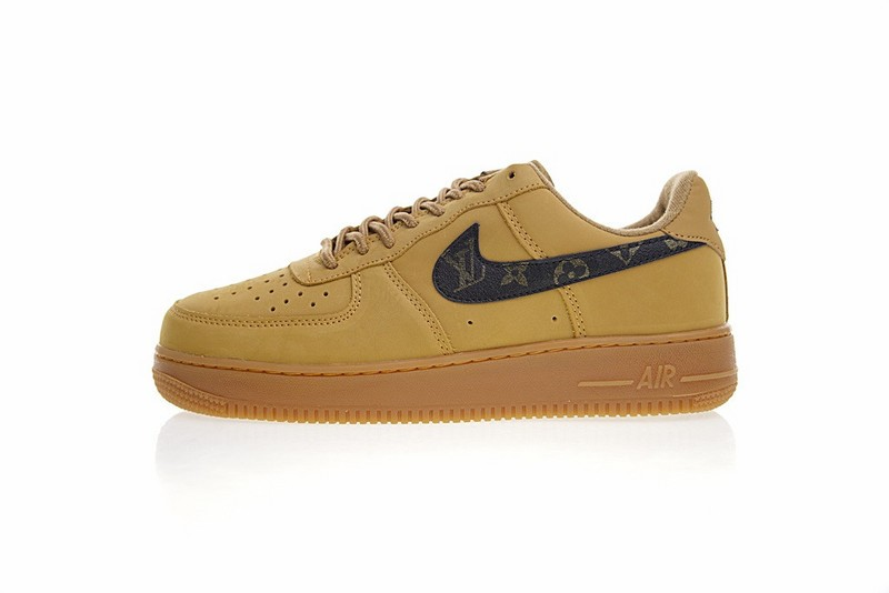 wholesale dealer 85d2f 696cb Prev Louis vuitton x Nike Air Force 1 Low Wheat Authentic Shoes 882096-201.  Zoom. Move your mouse over image or click to enlarge. Next
