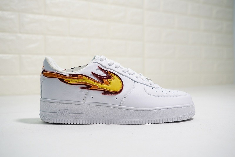 check out 7701e f57e7 ... Nike Air Force 1 Low Hot Flame Fire Custom 315122-911. Zoom