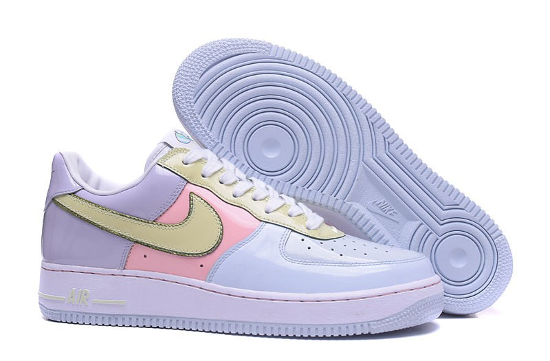 cozy fresh 039b1 0e934 Prev Nike Air Force 1 Low Easter Pack Blue Lime Pink Yellow 845053-500. Zoom