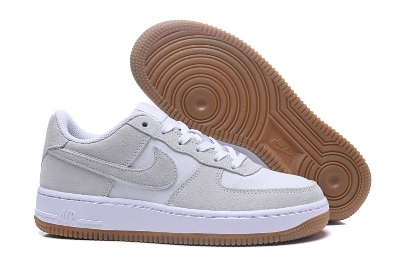 1 Air Off Lot Nike Low Force Gs 101 596728 Gum White kuPZiX