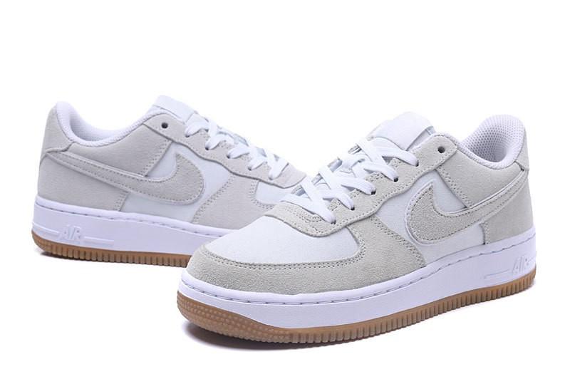 White 596728 Gs Nike Force Lot Air 1 Low Gum 101 Off ZuTOPkXi