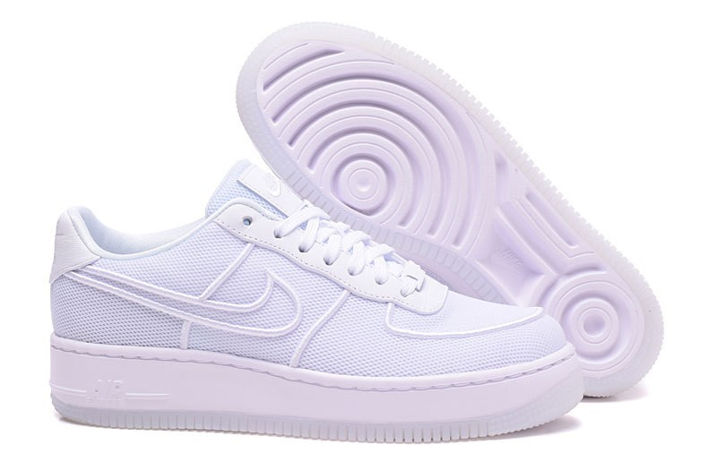 new concept 07913 3caeb Prev Nike Air Force 1 Low Upstep BR White Glacier Shoes 833123-101