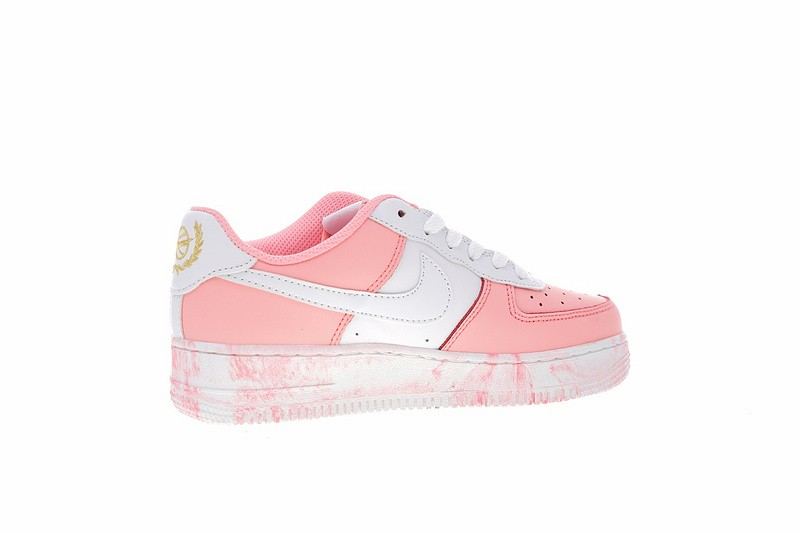 Nike Air Force 1 Upstep Low Pastel White 596728 031 nike shoes