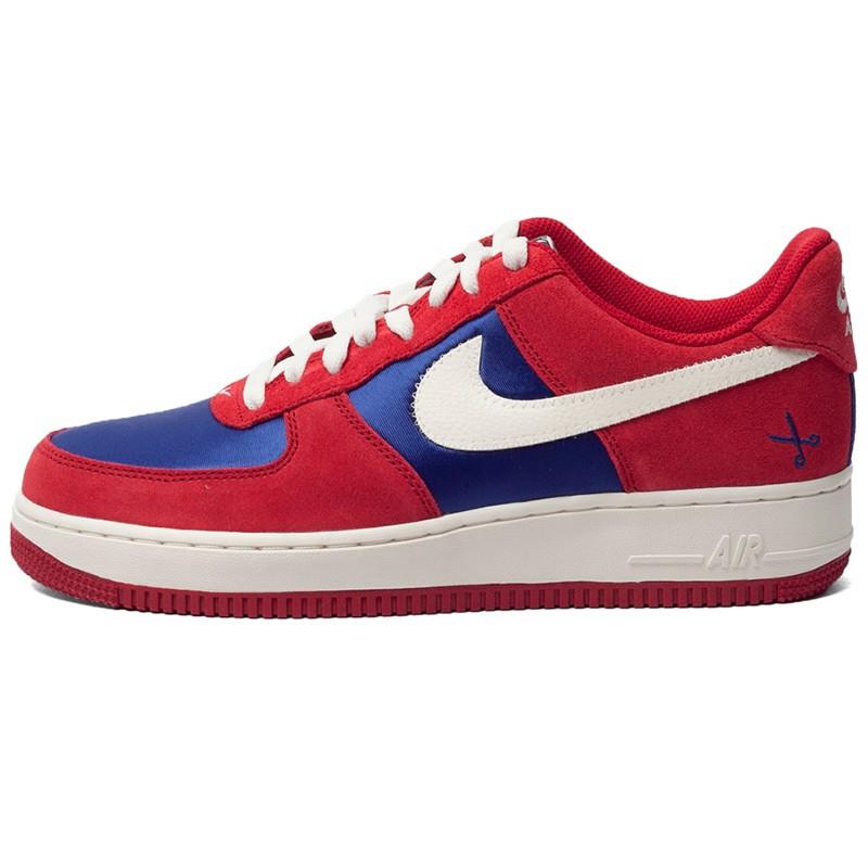Air 488298 626 Gym Nike Red Dark 1 Running Force White Shoes Blue Ybfy76gv