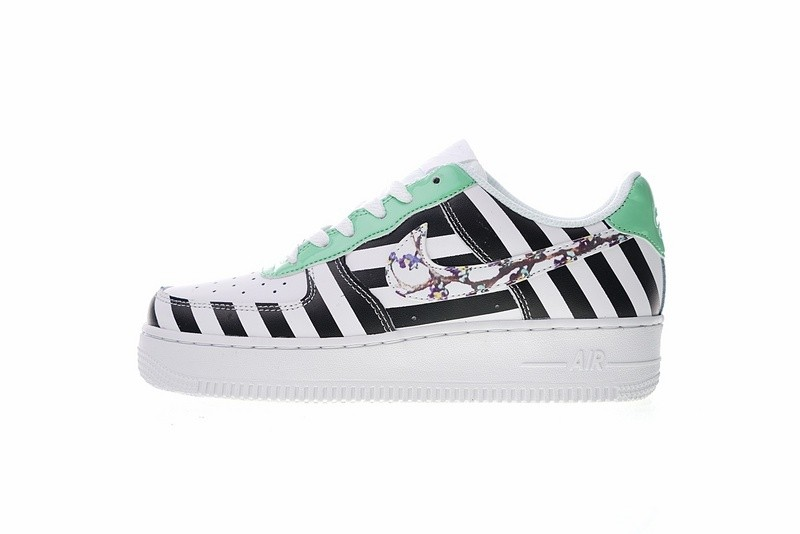 Prev Off White X Nike Air Force 1 Low Black White Green 596728-919. Zoom 9066be76b7