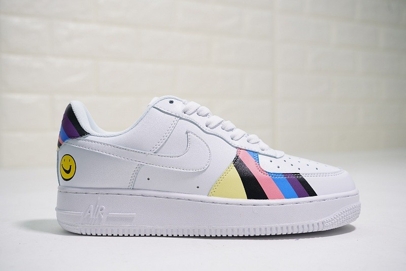 452567cb5e Prev Sean Wotherspoon x Nike Air Force 1 Rainbow White Multi Color  QD1801-100. Zoom