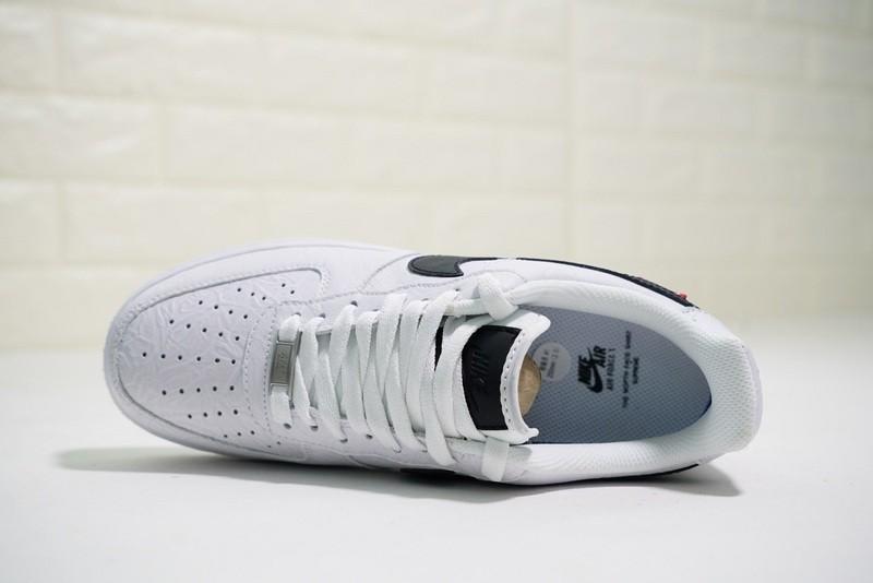 2fcbd7832 Supreme x The North Face x Nike Air Force 1 Low White Black AR3066-100
