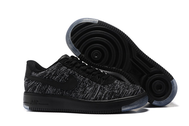 70e257d7f6f62 Prev Nike Air Force 1 Ultra Flyknit Low Black Dark Grey White NSW HTM  Lifestyle Shoes 820256. Zoom. Move your mouse over image or click ...