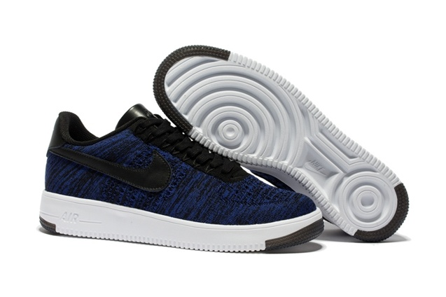 buy online bc473 7228b Prev Nike Air Force 1 Ultra Flyknit Low Dark Navy Blue Black Lifestyle Shoes  817419. Zoom